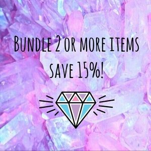 Other - Bundle!! 2+ items 15% off ✨